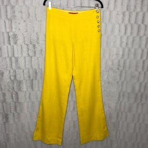 Anthropologie Cartonnier Linen Wide Leg Trousers